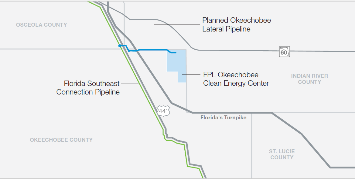 Okeechobee Lateral Pipeline Florida Southeast Connection Llc